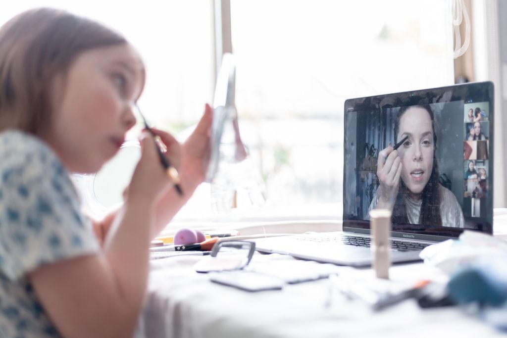 Zoom Kids Makeup Lesson